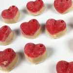 Strawberry and Apple Frozen Dog Treats