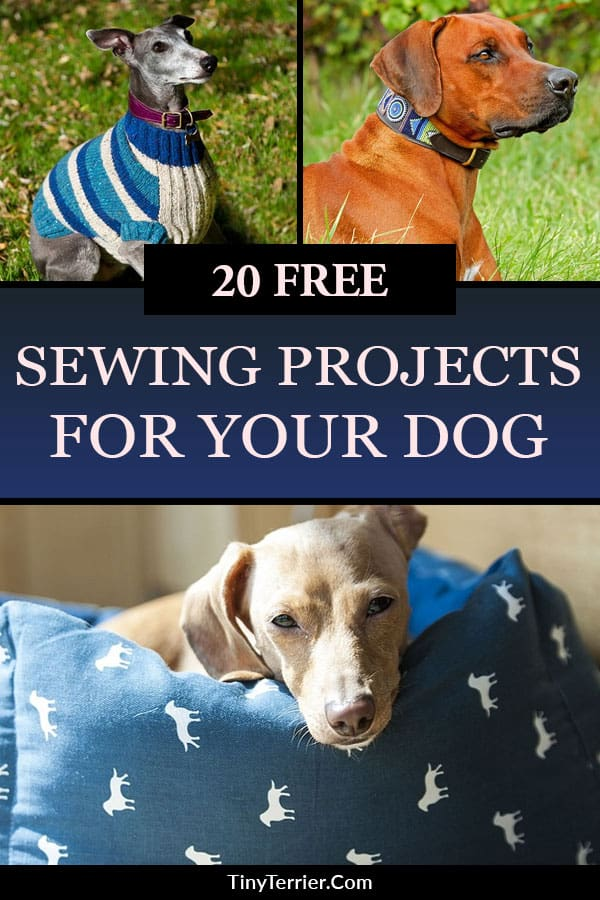 Free dog sewing patterns. Visit the collection of 20+ handmade dog craft projects including coats, toys, beds, leashes, collars and more. Spoil your dog by sewing them something special.